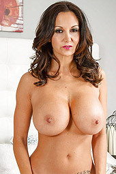 Ava Addams Is Teasing Her Big Natural Tits